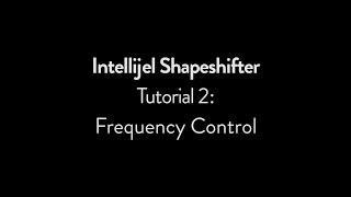 Intellijel Shapeshifter Tutorial 2: Frequency Control