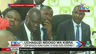 IEBC's Chebukati meets ODM leaders over transparency of Kibra by-election