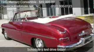 1949 Mercury Convertible  - for sale in RALEIGH, NC 27603 #VNclassics