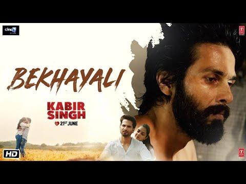 kabir-singh:-bekhayali-(full-song)|-shahid-kapoor,-kiara-advani-|-prateek-rohilla-|-lyrical-video