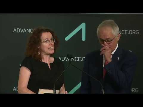 The Hon Malcolm Turnbull MP Interviews Overall Award Winner, Dr Genevieve Bell
