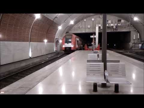 Train à Monaco,le 13 Novembre 2017