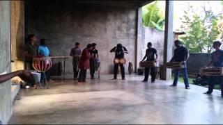 srilankan drum fuision by ravi bandhu troop