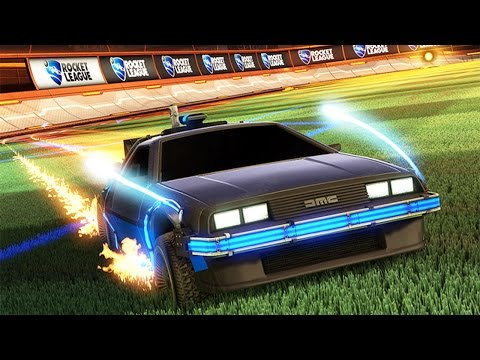 ROCKET LEAGUE Back to the Future DLC