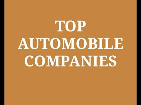 Top 10 Automobile Companies in India 2020
