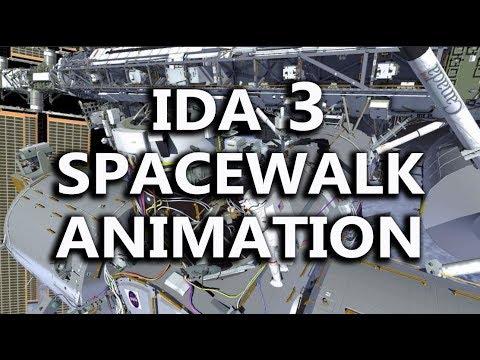 IDA 3 Spacewalk Animation