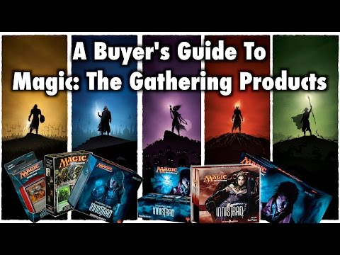 MTG - A Buyer's Guide To Magic: The Gathering Products