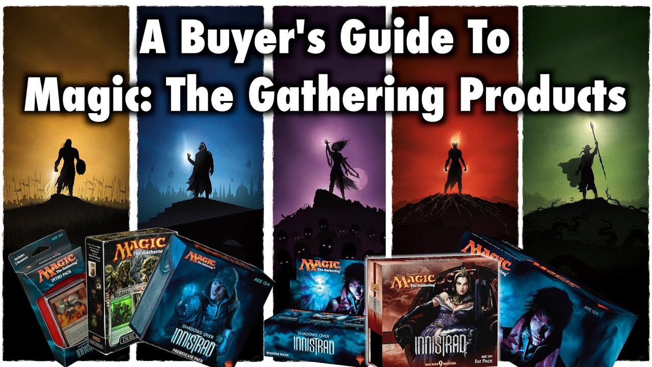 25b4e26d3 MTG - A Buyer's Guide To Magic: The Gathering Products - YouTube