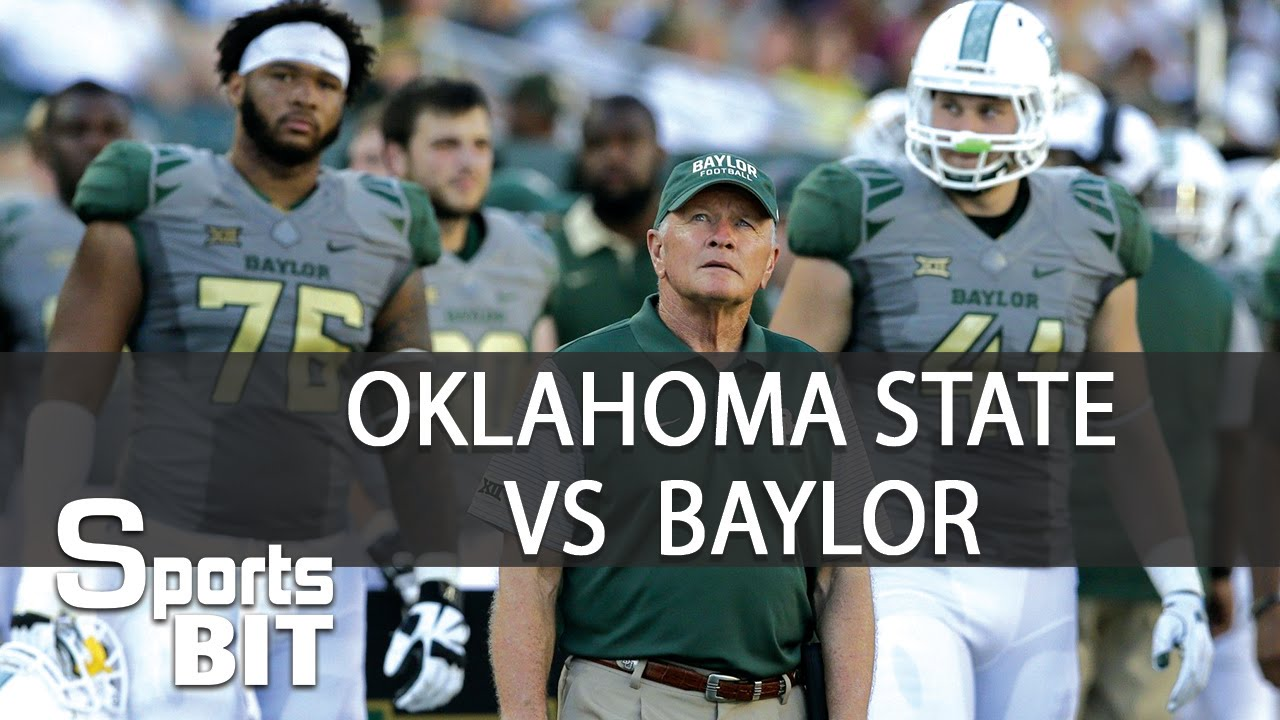 Sports BIT | Oklahoma State vs  Baylor | Week 4 College Football Expert  Picks