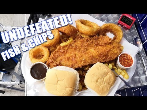 UNDEFEATED! 32oz Fish And Chips Challenge! @Queen St Fisheries