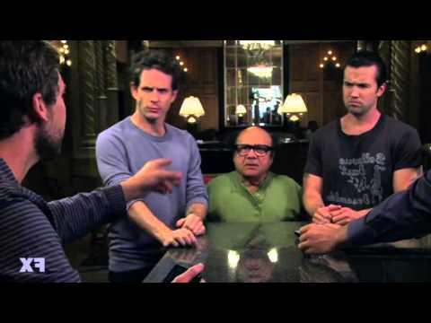 Erik Hoffstad's (Internet Comment Etiquette) cameo in It's Always Sunny in Philadelphia