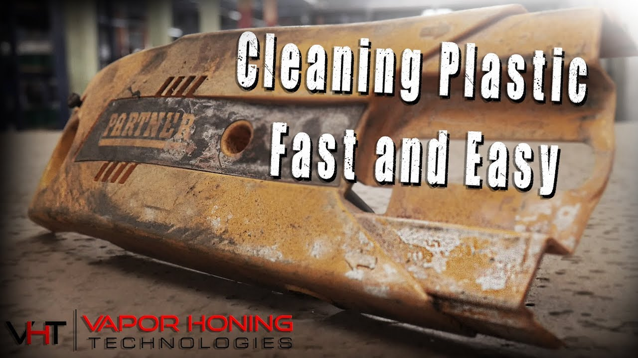 Fast Easy Cleaning For Plastic  Wet Blasting The Grime Away With Our Vapor  Blasters