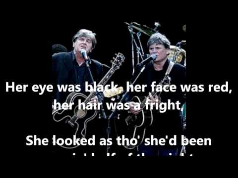 Poor Jenny  THE EVERLY BROTHERS (with lyrics)