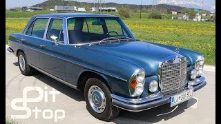 1971 Mercedes Benz 300 SEL W109 3.5 V8 Review