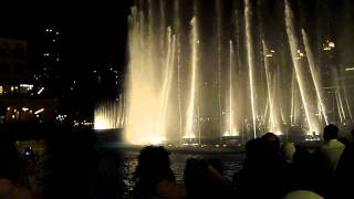 Dubai Fountain Dancing On Enta Omri Music