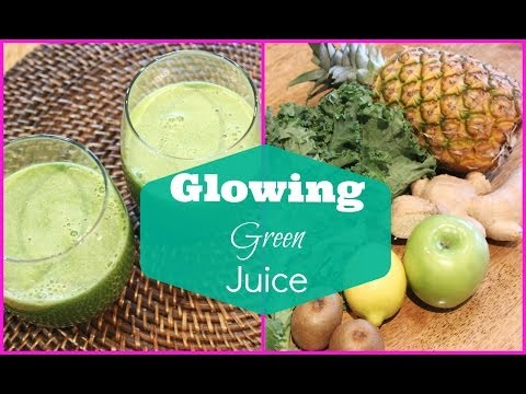 ? Green Juice Recipe for Weight Loss and Glowing Skin | Detox Green Juice ?
