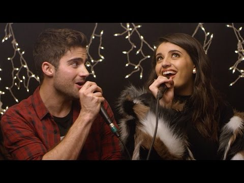 Baby It's Cold Outside - Rebecca Black & Max Ehrich LIVE COVER