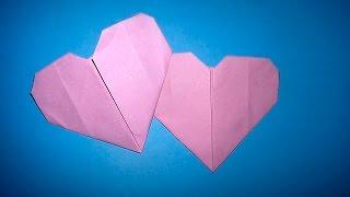 як зробити з кольорового паперу серце