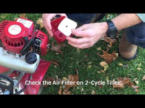 Mantis Tiller Maintenance Tips & How-To Instructions | mantis com