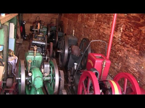 RARE ANTIQUE ENGINE HOARD