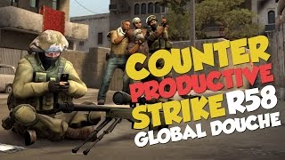 CS:GO Funny Moments - Counter Productive Strike : Global Douche - Round 58