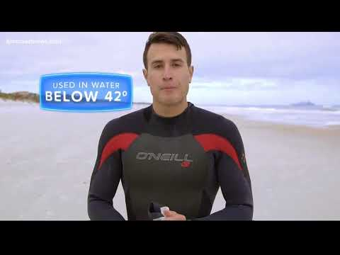 How wetsuits keep you warm during frigid temperatures in the ocean