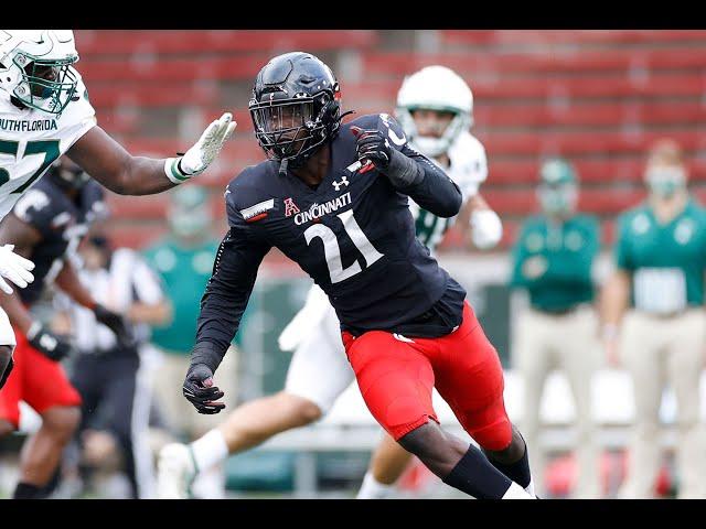Myjai Sanders    UC Bearcats Defensive End    2020 Highlights