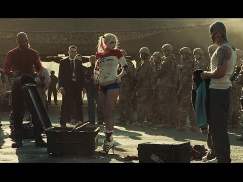 Download Airport Suit Up Scene   Suicide Squad 2016   4K ULTRA HD movie clip