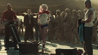 Airport Suit Up Scene Suicide Squad 2016 4k Ultra Hd Movie Clip