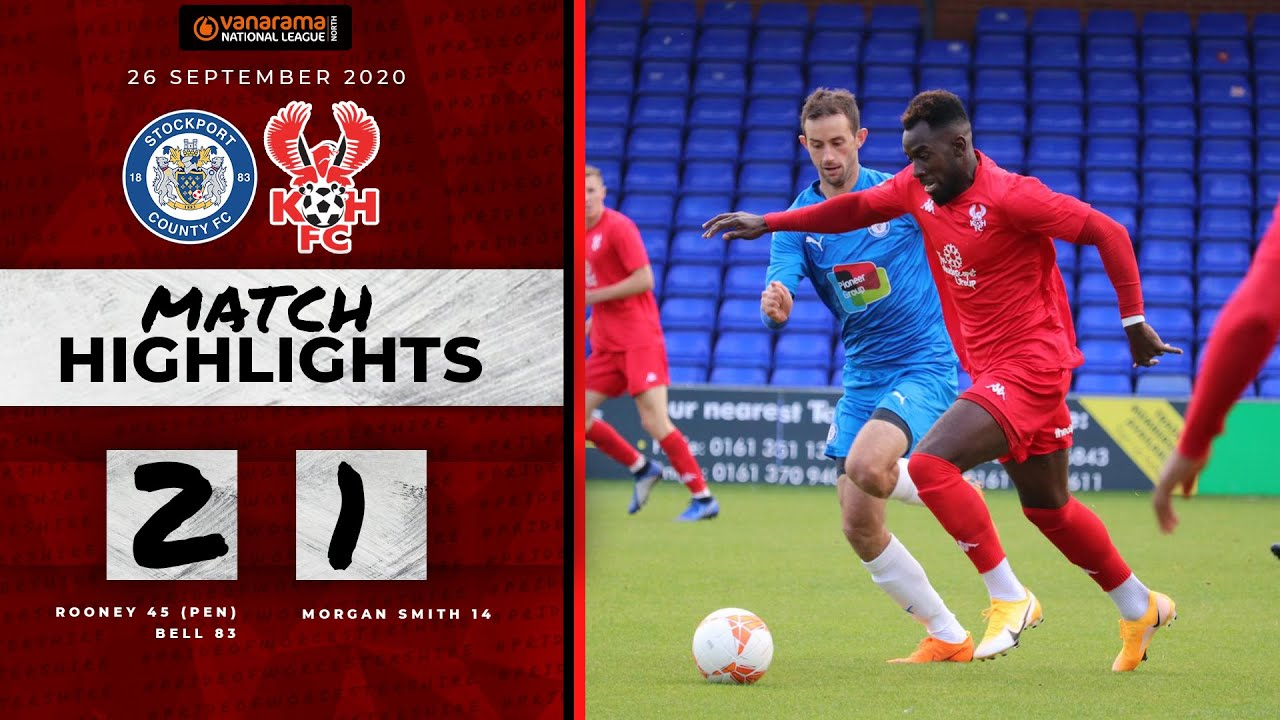 Pre-Season Highlights: Stockport County 2-1 Harriers 26/09/20