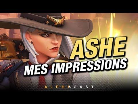 Jai pu tester le nouveau héros dOverwatch : ASHE