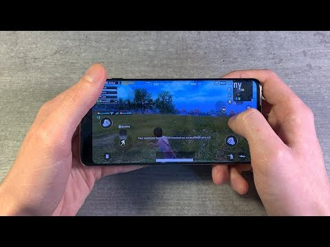 Игры Samsung Galaxy S10 (GTA:SanAndreas, PUBG:Mobile, Unkilled)