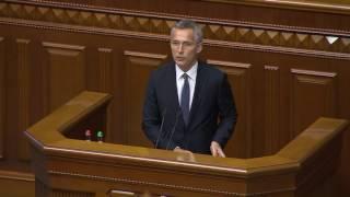 NATO Secretary General address to Parliament of Ukraine, 10 JUL 2017, Part 1/2
