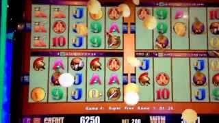 ~*Wonder 4~POMPEII~ARISTOCRAT Slot~ SWEET BONUS WIN!~@$2.00 bet~*Gamer Couple Alliance*~