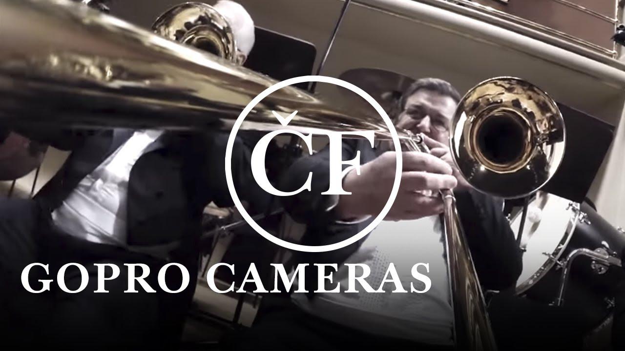 24 GoPro au milieu d'un orchestre