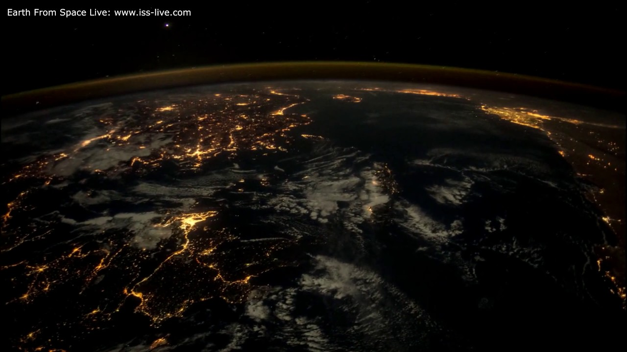 Live pictures of uk from space
