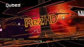 Rez HD Full Game Play Xbox 360