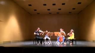 W.A. Mozart: String Quartet in G Kv387 - Allegro vivace assai [Cuarteto Francisco de Goya]
