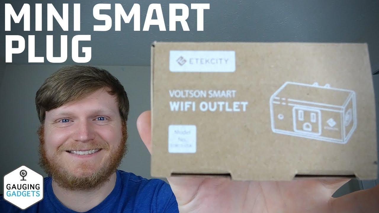 Etekcity Voltson Mini Smart Plug Review - Smart Outlet Setup Tutorial