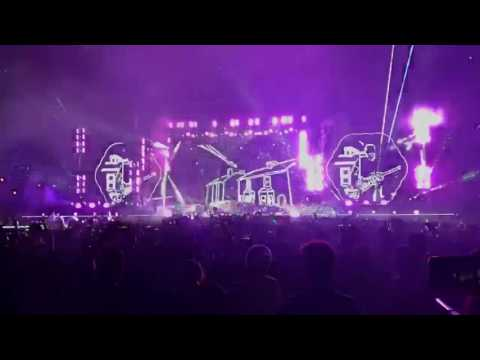 Coldplay Something Just Like This  + ASFOS Live @MOA, Manila 2017