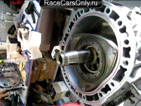Mazda rx-7, engine 13B, Rebuilding rotor engine, Final Stage - YouTube