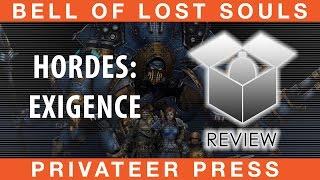 BoLS Review Hordes Exigence | Privateer Press