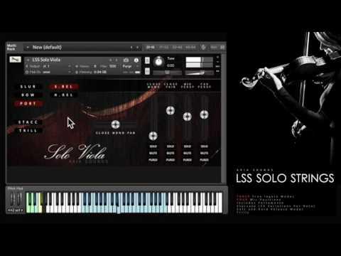LSS Solo Strings - Walkthrough Demo