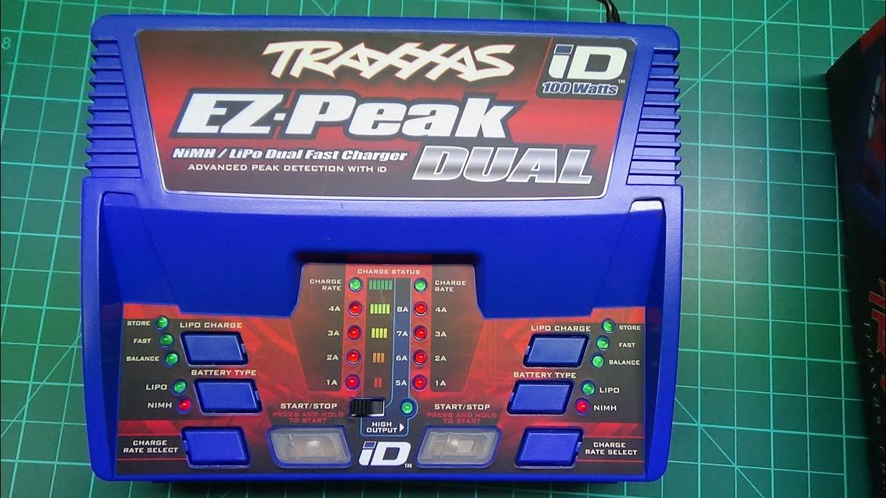Traxxas EZ Peak Dual 8 and 100 Watt NiMH LiPo charge