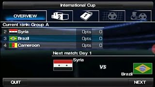 International cup in WE2012. Day 1 (Brazil vs Syria)