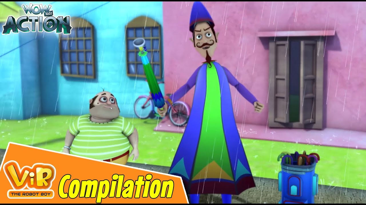 Best Episodes Of Vir The Robot Boy | Cartoon For Kids | Compilation 83 | Wow Kidz Action