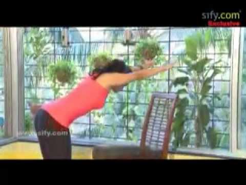 yoga for office goers uttanasana two variations  youtube