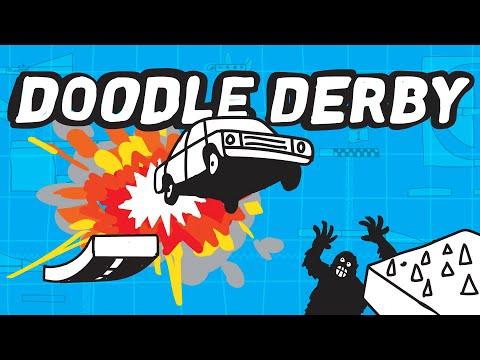MULTIPLAYER DE RABISCO | Doodle Derby (Gameplay em Português PT-BR) |