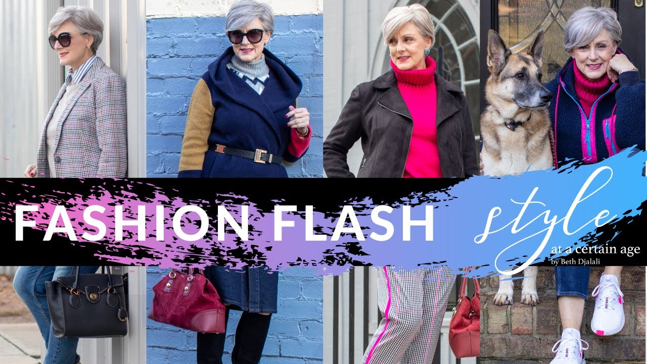 [VIDEO] – fashion flash | daily outfits | style over 50