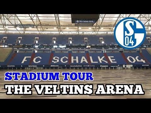 STADIUM TOUR: The Veltins Arena: The Home of FC Schalke 04
